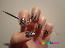 nail art arabesques