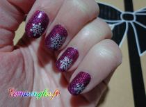 nail art opi stickers flocons